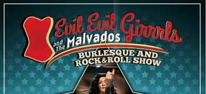 Ir al evento: EVIL EVIL GIRRRLS and The Malvados