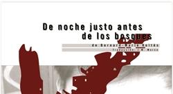 Ir al evento: DE NOCHE JUSTO ANTES DE LOS BOSQUES De Bernard Marie Koltes
