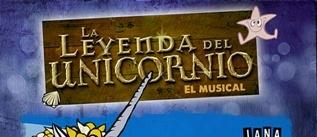 Ir al evento: LA LEYENDA DEL UNICORNIO El musical