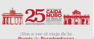 Ir al evento: 25 ANIVERSARIO DE LA CAÍDA DEL MURO DE BERLÍN