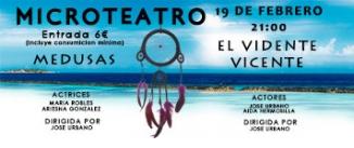 Ir al evento: MEDUSAS y EL VIDENTE VICENTE Microteatro