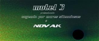 Ir al evento: MOTEL 3 + NOVAK (ROCK/EXPERIMENTAL)