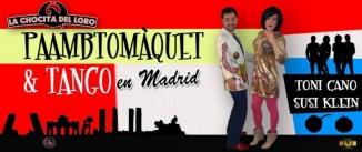 Ir al evento: TONI CANO & SUSI KLEIN: Pa amb tomàquet & tango