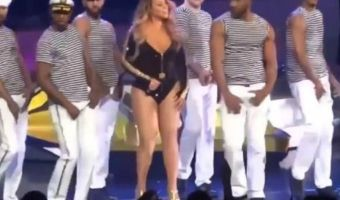 VIDEO: Mariah Carey sufre bullying por 'floja'