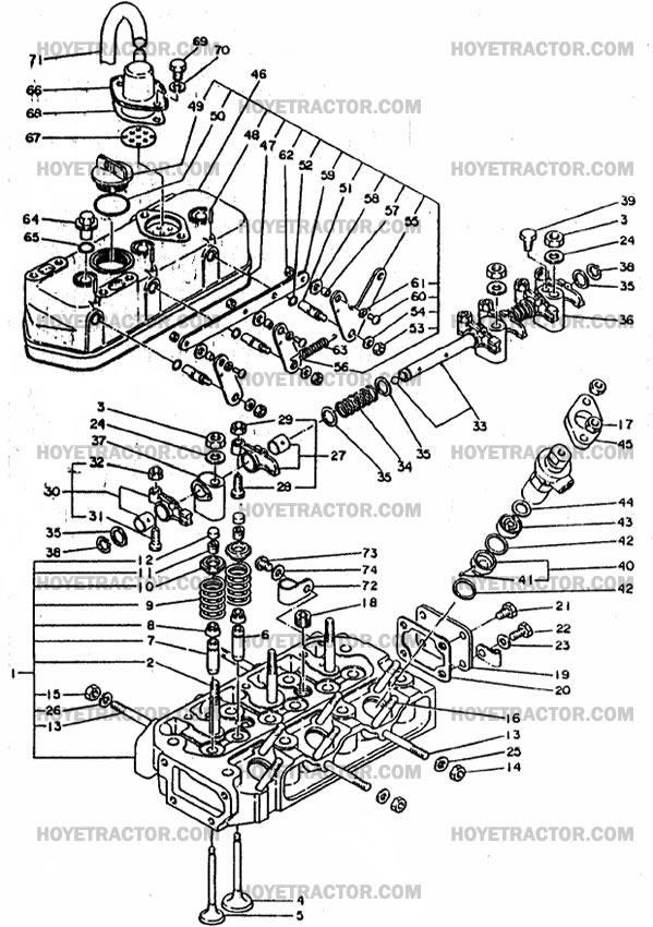 Diagram L245dt Parts Kubota
