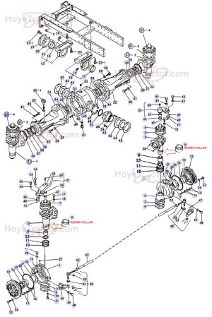 4WD EXTERNAL (OLD STYLE) ^: Yanmar Tractor Parts