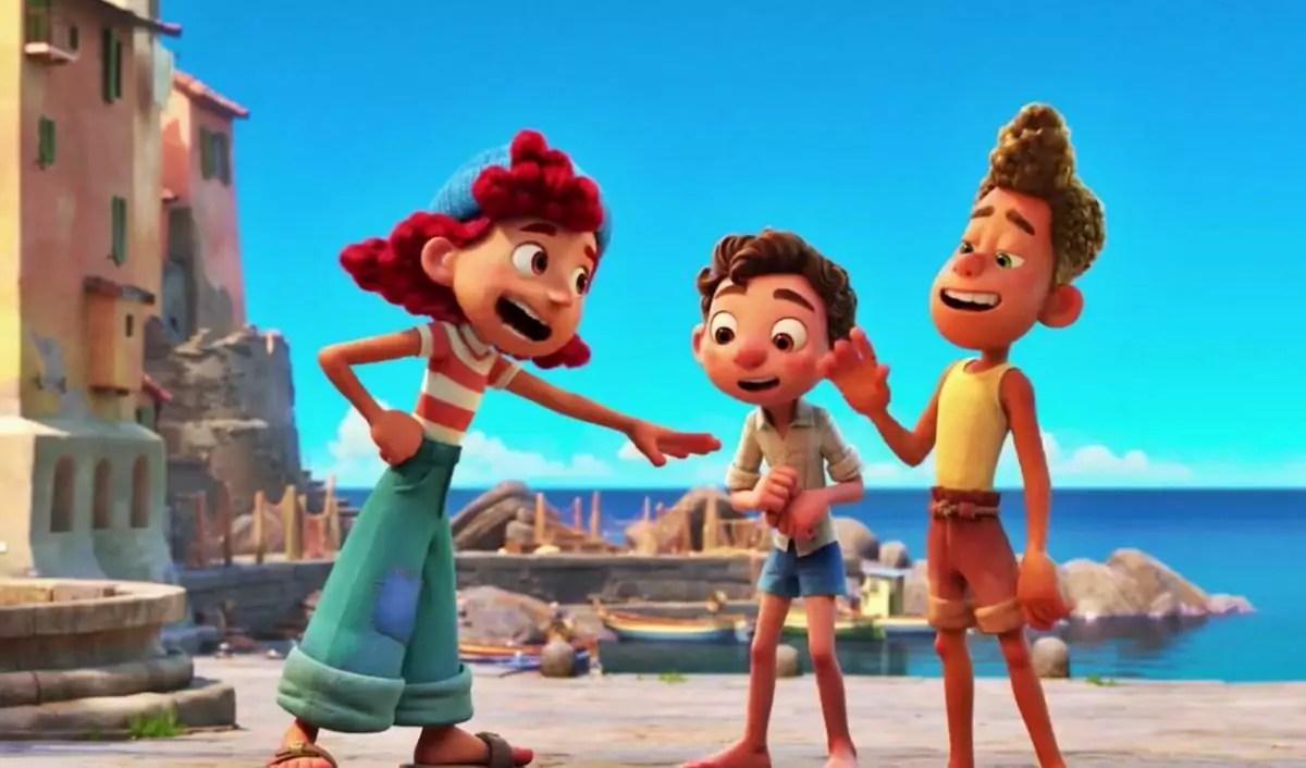 Escena de 'Luca'. Foto: Pixar