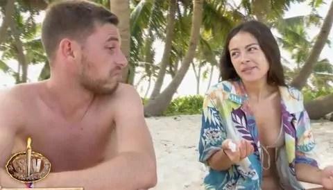 Tom y Melyssa en Supervivientes 2021
