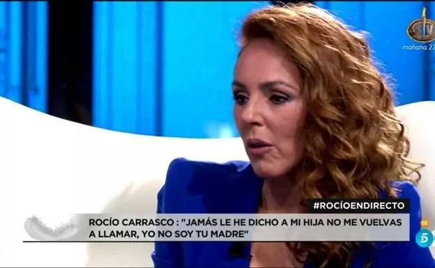 Rocio Carrasco en Directo