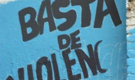 Basta de Violencia - Mural