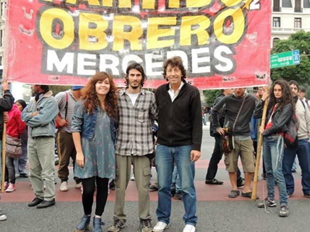 """Demarco: """"las reivindicaciones de los trabajadores tienen una expresión política en el frente de izquierda"""""""