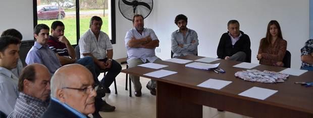La Dirección de Producción se reunió con empresarios industriales de la ciudad