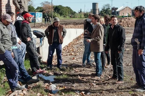 La Trocha: ediles del Frente Mercedino recorrieron las obras que no paran