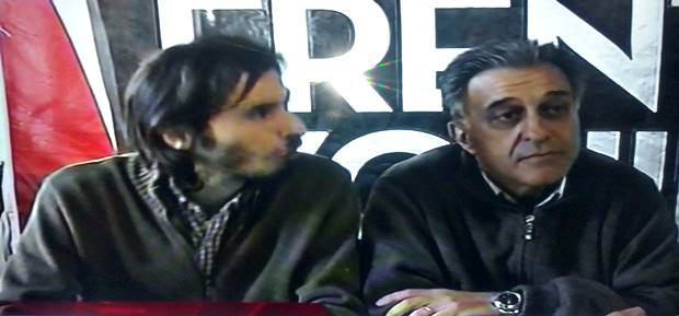 """Néstor Pitrola """"Mercedes no es la excepción, es un emergente de una realidad provincial que no es agenda electoral de Scioli"""""""