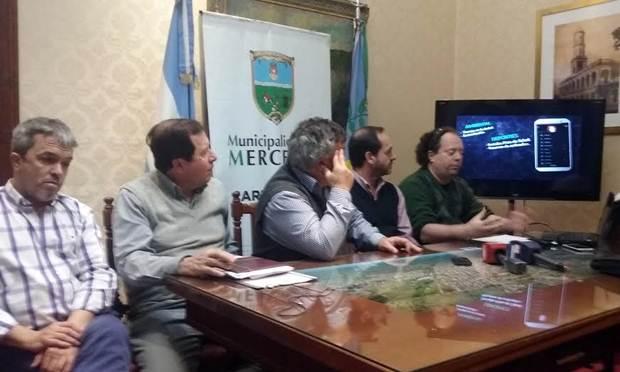 Carlos Selva y Denápole reclamaron urgentes obras provinciales
