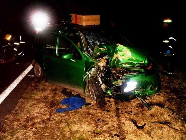 Nuevamente un fuerte accidente se vivió en Ruta Nacional Nº5