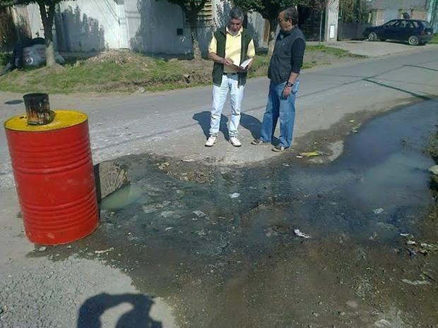 UCR: reclamos, visita al Barrio Calvillo y presentación al municipio