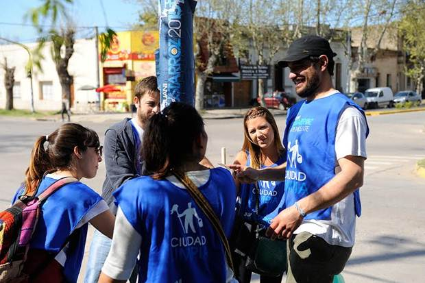 Frente Mercedino lanzó la campaña #CiudadLimpia