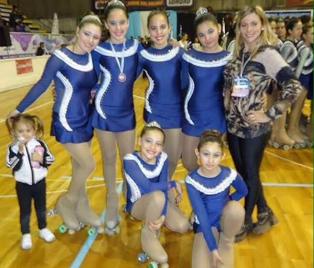 Campeonato Nacional de Patin Artístico: exitosa participación de las chicas del Club Mercedes