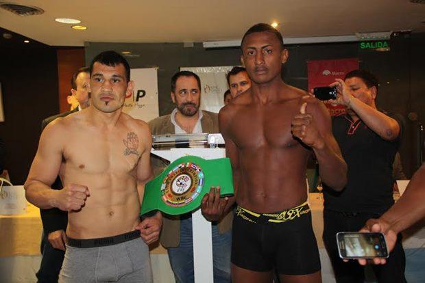 Walter «Yacaré» Sequeira realizó el pasaje para su combate con Evert Bravo de Colombia