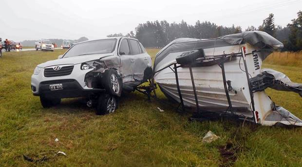 Fin de semanas con accidentes en Ruta Nacional N°5