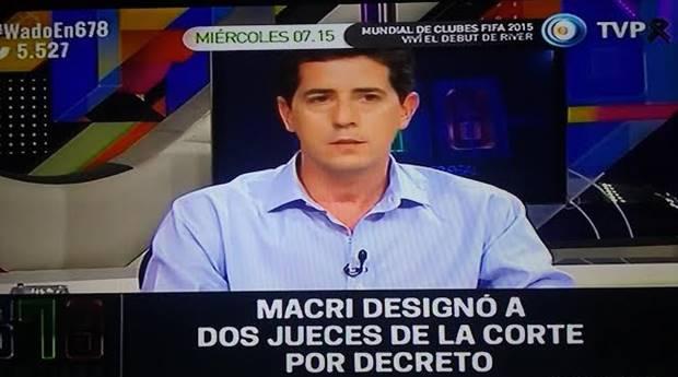 Wado De Pedro estuvo nuevamente presente en el programa 678