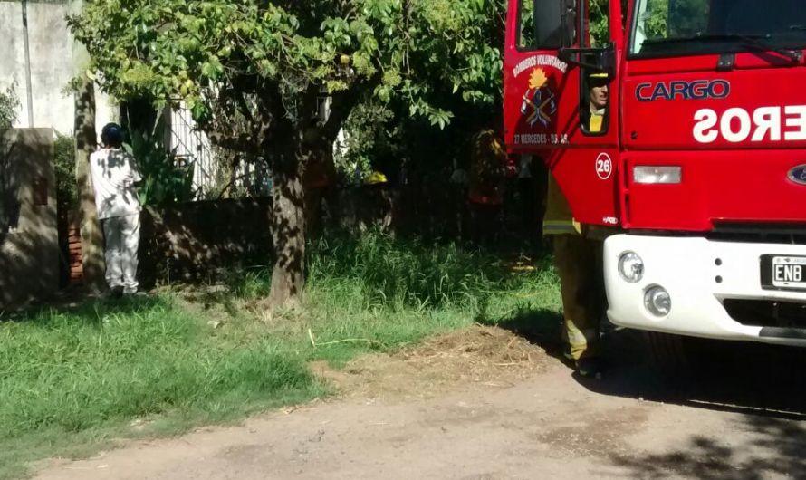Homicidio y actuación de bomberos
