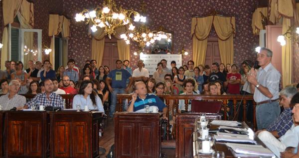 El legislativo trató proyecto de municipalización de la Escuela El Pampero