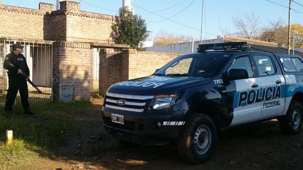 Participación de la Policía Federal de Mercedes