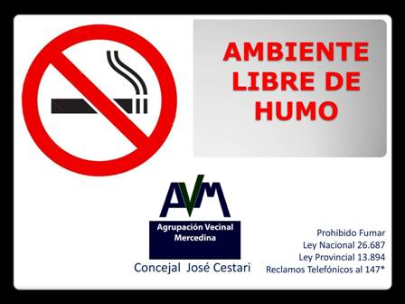 Aprobaron adhesión a la ley que regula promoción y consumo de tabaco