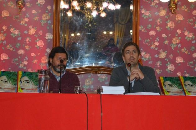 Sergio Carini y Juan Ustarroz