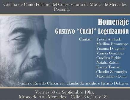 Concierto Homenaje a Gustavo «Cuchi» Leguizamón