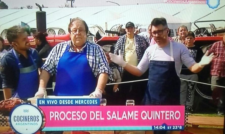 Espectacular inicio de la Fiesta Nacional del Salame Quintero