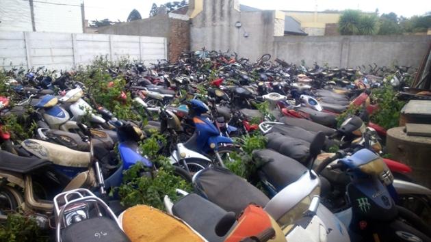 Operativos por infracciones varias de conductores de motos