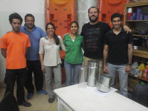 La UNLu donó pluviómetro para Protección Civil