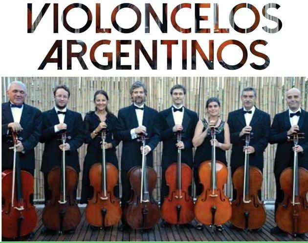 Violonchelos Argentinos en el Colegio Nacional
