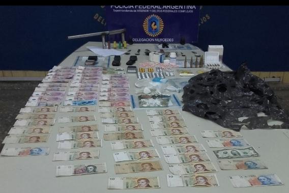 Allanamientos en General Rodríguez por narcóticos