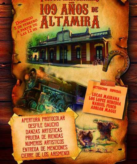 Domingo de festejo en Altamira