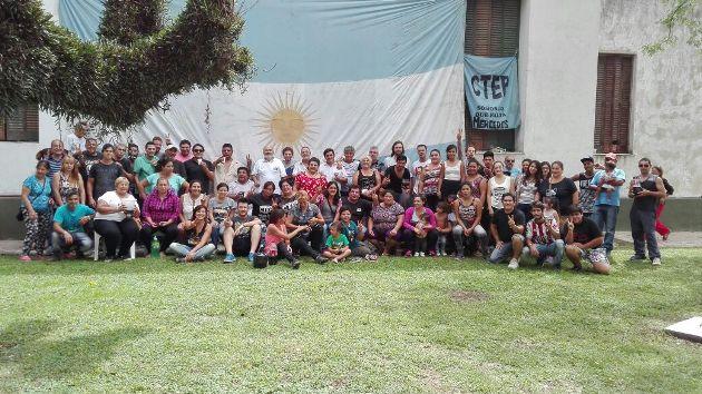 El CTEP Mercedes inauguró la primera etapa del Centro Cultural San Cayetano