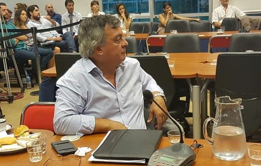 Selva en la comisión que interpeló a Aguad