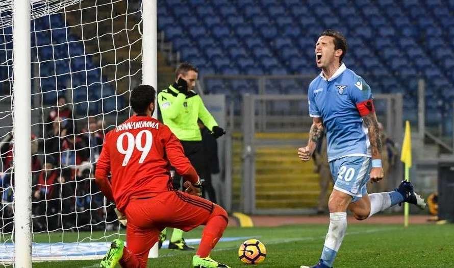 Gol de Lucas Biglia en el empate de Lazio (Video)