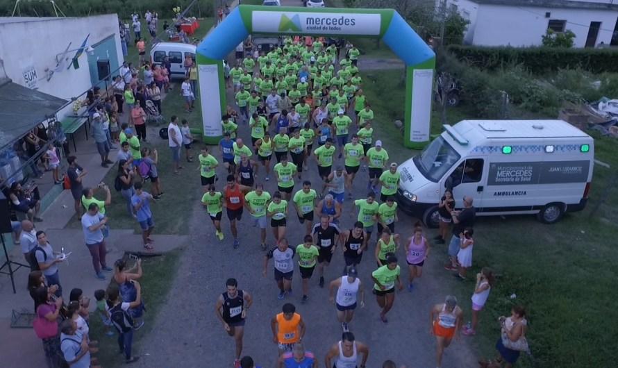 """Más de un centenar de atletas realizaron el """"Maratón aniversario de Gowland"""" (Video)"""
