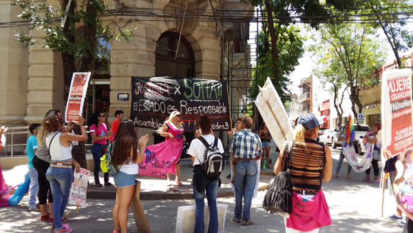 Marcharon pidiendo Justicia por Sofía Santillán