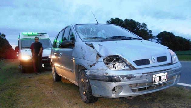 Accidente fatal sobre Ruta 5