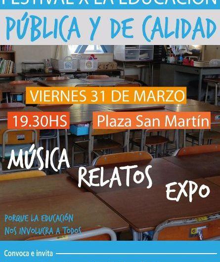 Festival por la Educación Pública y de Calidad