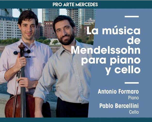 Mendelssohn en Piano y violonchello en el Colegio Nacional