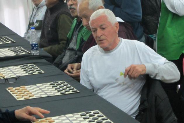 Mario Denza tercer puesto en Damas
