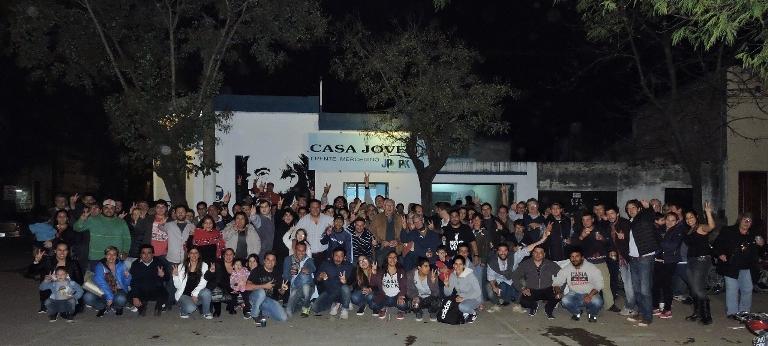 La agrupación política Casa Joven celebró un nuevo aniversario