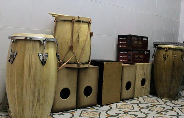 Fuerte inversión en cultura en compra de instrumentos y bienes para los talleres culturales
