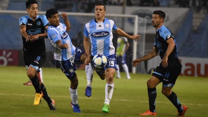 Gol de Federico Lértora en la victoria de Belgrano en Rafaela (video)